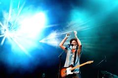 Travis (British post-Britpop alternative rock band) concert at FIB Festival Stock Photography