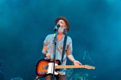 Travis (British post-Britpop alternative rock band) concert at FIB Festival Royalty Free Stock Photography