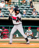 Travis Demeritte, Crawdads d'hickory Photo stock