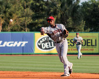 Travis Demeritte, Crawdads d'hickory Photo libre de droits