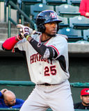 Travis Demeritte, Crawdads d'hickory Photographie stock