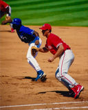 Travis Lee Philadelphia Phillies 1B Fotografia Stock Libera da Diritti