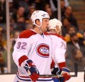 Travis Moen Montreal Canadiens. Montreal Canadiens forward Travis Moen #32 Stock Photos