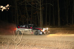 Travis Pastrana racing in Rally America, Salem Missouri 22 2014 Stock Image
