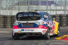 Travis Pastrana rally driver Stock Images