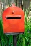 travle för norway postboxred Arkivbilder