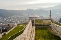Travnik - Bósnia e Herzegovina Imagem de Stock Royalty Free