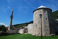 Travnik fästning Arkivbild