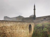 Travnik fortress. Bosnia and Herzegovina royalty free stock photo