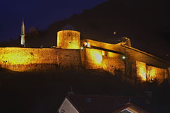 Travnik fortress. Bosnia and Herzegovina Royalty Free Stock Images