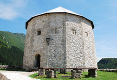 Travnik Fortress stock images