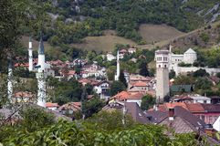 Travnik panoramiczny widok Fotografia Royalty Free