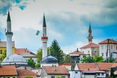 Travnik trzy meczetu zdjęcie stock