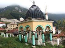 Travnik turecczyzny grób Fotografia Royalty Free