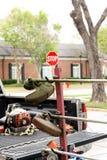 Traw drobiażdżarki Zdjęcie Royalty Free