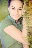 traw kobiety Zdjęcie Royalty Free