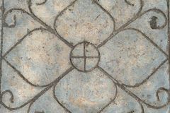 Trawa i kamienie jako tło tekstura Zdjęcia Royalty Free