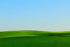 Trawa krajobraz Zdjęcia Stock