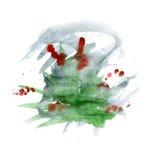 Trawa zielony krzak Zdjęcia Royalty Free