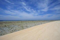 trawangan海滩的gili 库存照片