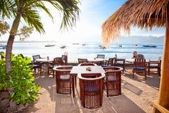 Trawangan的Gili海岛,印度尼西亚 库存照片