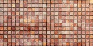 Trawertynu dachówkowy ceramiczny, mozaika kwadrata projekta bezszwowa tekstura obrazy stock