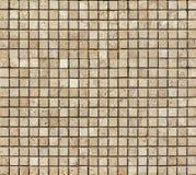 Trawertynu dachówkowy ceramiczny, mozaika kwadrata projekta bezszwowa tekstura zdjęcia royalty free