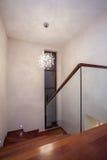 Trawertynu dom - schody fotografia royalty free