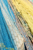 Trawl fishing nets Stock Photography