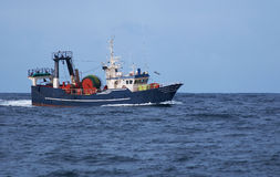 Trawl Fishing. Sea Fish Vessel Fisheries Royalty Free Stock Photos