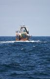 Trawl Fishing. Sea Fish Vessel Fisheries Stock Photo