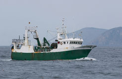 Trawl Fishing Royalty Free Stock Image