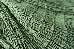 Trawl. A new green Trawl in roll stock images