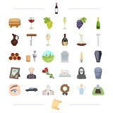 Trawl, ritual, religion and other web icon in black style. Trawl, ritual, religion and other  icon in black style.alcohol, winemaking, viticulture icons in set Stock Photography
