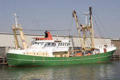 Trawler Royalty Free Stock Photo