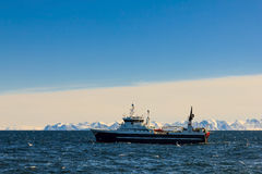trawler in the cod fishery Royalty Free Stock Photos