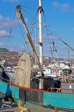 Trawler fishing boat stock photography