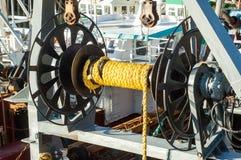 Trawler fishing gear Royalty Free Stock Photos