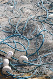 Trawler fishing nets Royalty Free Stock Photo