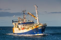 Trawler Royalty Free Stock Image