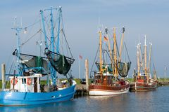 trawler krewetek Obrazy Royalty Free