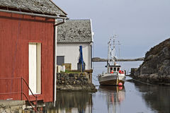 Trawler in Norway Stock Images