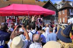 Trawler Race winners Folkestone UK Stock Photo
