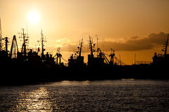 Trawlers Stock Image