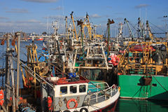 Trawlers Stock Photo