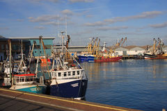 Trawlers Royalty Free Stock Photo