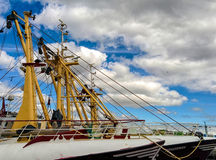 Trawlers Royalty Free Stock Photography