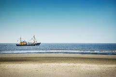 Trawlery w Północnym morzu Obraz Royalty Free