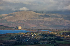 Trawsfynydd power station Royalty Free Stock Photography