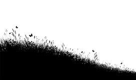trawy łąka royalty ilustracja